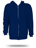 Custom Zip Up Hoodies : 697HBM1 Russell Athletic Dri-Power