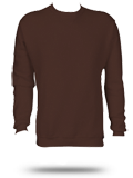 Custom Printed Sweatshirts : 698HBM1 Russell Athletic Dri-Power Fleece Crew