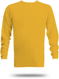 Custom Long Sleeve T-Shirts : Augusta 788 Wicking Long Sleeve