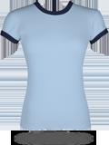 Bella 1007 Baby Rib Ringer T-Shirt