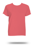 Custom Women's Short Sleeve T-Shirts : 3333 Comfort Colors Ladies' Garment-Dyed