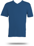 Custom Short Sleeve T-Shirts : DT1170 District Made V-Neck