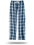 Custom Sweats : DT1800 District Young Mens Flannel Plaid Pant
