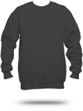 Custom Printed Sweatshirts : F260 Hanes Ultimate Cotton Crewneck