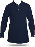 K500LSP Port Authority Silk Touch LS Pocket Polo