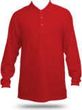 K500LS Port Authority Silk Touch Long Sleeve Sport Shirt