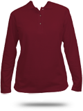 L500LS Port Authority Ladies' Silk Touch Long Sleeve Polo
