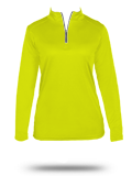 Custom Performance Fabrics : 4103 Badger B-Core Ladies 1/4 Zip