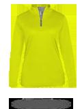 Custom Performance Fabrics : 4103 Badger B-Core Ladies 1/4 Zip