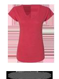 Custom Women's Short Sleeve T-Shirts : Anvil 6750VL Women's Triblend V-Neck T-Sh