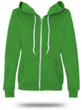 Custom Hooded Sweatshirts: 71600FL Anvil Ladies' Full-Zip Hooded Fleece