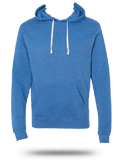 Custom Hoodie Sweatshirt : 8871 J. America Tri-Blend Hooded Pullover Sweatshirt