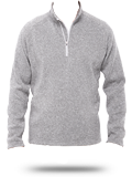 Custom Sweatshirts : DG792 Devon & Jones Men's Bristol Sweater Fleece Half-Zip