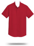 Custom Short Sleeve Button Down Business Apparel : S664 Port Authority Short Sle