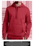 Custom Hoodie Sweatshirt : ST290 Sport-Tek Repel Hooded Pullover