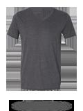 Custom Short Sleeve T-Shirts : Anvil 6752 Triblend V-Neck T-Shirt