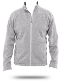 Custom Sweatshirts : DG793 Devon & Jones Men's Bristol Full-Zip Sweater Fleece J