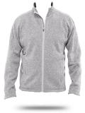 Custom Sweatshirts : DG793 Devon & Jones Men's Bristol Full-Zip Sweater Fleece J