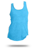 DM138L District Made Ladies Perfect Tri-Blend Racerback Tank