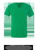 Custom Short Sleeve T-Shirts : Next Level 6040 Triblend V-Neck T-Shirt