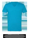 Custom Short Sleeve T-Shirts : Next Level 6240 Fitted CVC V-Neck T-Shirt