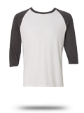 Custom Athletic Jerseys : Anvil 6755 Triblend Raglan Sleeve T-Shirt