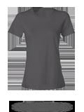 Custom Women's Short Sleeve T-Shirts : Anvil 880 Women's Lightweight Ringspun T-