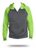 Custom Sweatshirts: ST236 Sport-Tek Sport-Wick Varsity Fleece Full-Zip Hooded Ja