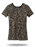 Custom Short Sleeve T-Shirts : DM104CL District Made Ladies Perfect Weight Camo