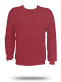 Custom Printed Sweatshirts : 562 Jerzees Vintage Heathers Crewneck