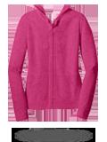 Custom Hoodies : DT2100 District Juniors Jersey Full-Zip Hoodie