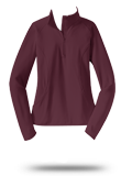 Custom Outerwear :LST850 Sport-Tek Ladies Sport-Wick Stretch 1/2-Zip Pullover