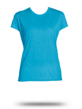 Custom Short Sleeve T-Shirts : Russell Women's Performance