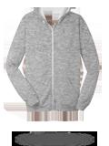 Custom Sweats : SF60R Sofspun Cotton Jersey Full-Zip