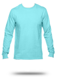 Custom Long Sleeve T-Shirts: SFLR Sofspun Cotton Jersey Long-Sleeve T-Shirt