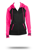 Custom Sweatshirts : LST236 Sport-Tek Ladies Sport-Wick Varsity Fleece Full-Zip