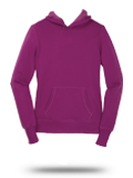 Custom Sweatshirts : LST254 Sport-Tek Ladies Pullover Hooded Sweatshirt