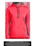 Custom Sweatshirts : LST235 Sport-Tek Ladies Sport-Wick Fleece Colorblock Hooded