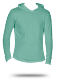 Custom Long Sleeve T-Shirts : CC4900 Comfort Colors Garment Dyed Hooded Long Sle