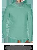Custom Long Sleeve T-Shirts : CC4900 Comfort Colors Garment Dyed Hooded Long Sle