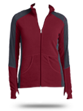 L230 Port Authority Ladies Colorblock Microfleece Jacket