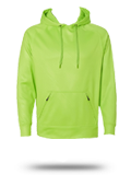 Custom Hooded Sweatshirts : 8670 J. America Volt Polyester Hooded Pullover Sweat
