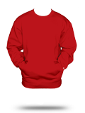Custom Sweats :1252 Badger Pocket Crew Sweatshirt