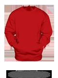 Custom Sweats :1252 Badger Pocket Crew Sweatshirt