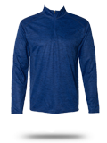 Custom Performance Fabrics : 4172 Badger Tonal Blend 1/4 Zip