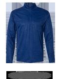 Custom Performance Fabrics : 4172 Badger Tonal Blend 1/4 Zip