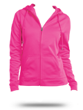 LST238 Sport-Tek Ladies Sport-Wick Fleece Full-Zip Hooded Jacket