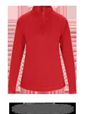 1486 Badger 1/4 Zip Poly Fleece Ladies Pullover