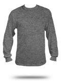 Custom Long Sleeve T-shirts : 68914M0 Russell Athletic Mens Jersey LS Crewneck T