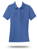 Custom Polo Shirts : L800 Port Authority Ladies EZCotton Pique Polo